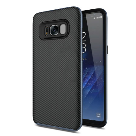 olixar x duo samsung galaxy s8 plus h lle in carbon fiber. Black Bedroom Furniture Sets. Home Design Ideas