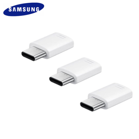 Official Samsung Micro Usb To Usb C Adapter Triple Pack