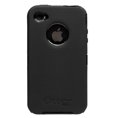 otterbox defender iphone 4s otterbox defender series iphone 4s 4 tough black 1512