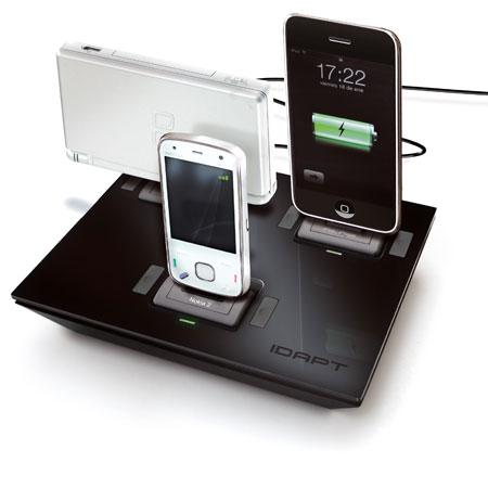 Idapt I4 Universal Desktop Charger Black Mobilezap