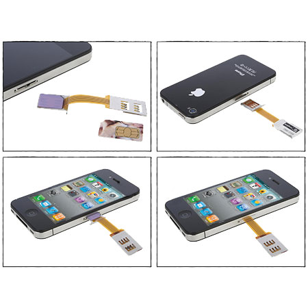 micro sim adapter and stand case for iphone 4s 4 reviews mobilezap australia. Black Bedroom Furniture Sets. Home Design Ideas
