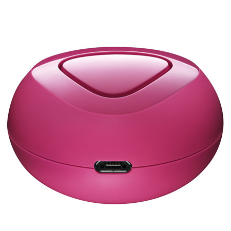 nokia luna bluetooth headset bh 220 fuchsia reviews mobilezap australia. Black Bedroom Furniture Sets. Home Design Ideas