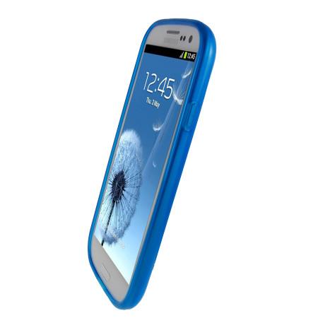 FlexiShield Case For Samsung Galaxy S3 - Blue Reviews ...