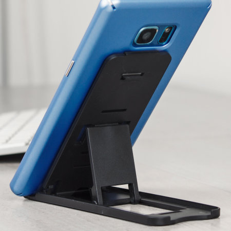 rely olixar portable multi angle smartphone desk stand power button has