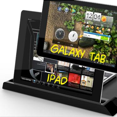 universale ladestation f r tablets und smartphones mobilefun sterreich. Black Bedroom Furniture Sets. Home Design Ideas