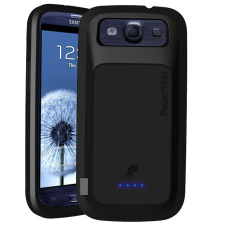 powerskin extended samsung galaxy s3 battery case. Black Bedroom Furniture Sets. Home Design Ideas