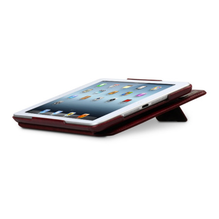 zenus neo classic diary for ipad mini 3 2 1 wine red