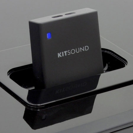 kitsound dock air bluetooth adaptor mobilezap australia. Black Bedroom Furniture Sets. Home Design Ideas