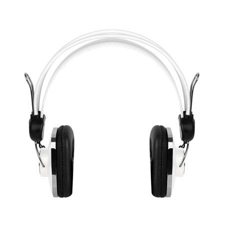merkury retro stereo headphones white reviews mobilezap australia. Black Bedroom Furniture Sets. Home Design Ideas