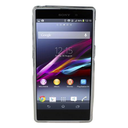 Xperia Z1 White Review Flexishield for Sony X...