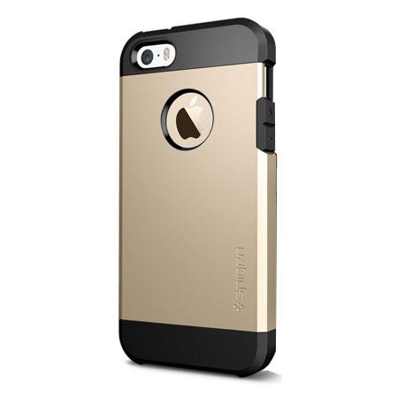 Iphone 5s Cases Gold Spigen SGP Tough Armor...