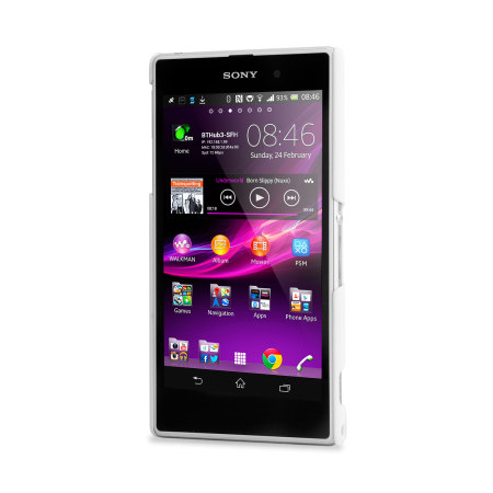 Xperia Z1 White Review Capdase Karapace Touch...