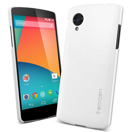 spigen nexus 5 template - spigen ultra fit case for google nexus 5 smooth white
