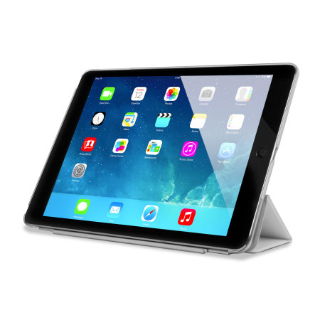 Smart Cover with Hard Back Case for iPad Air - White ...