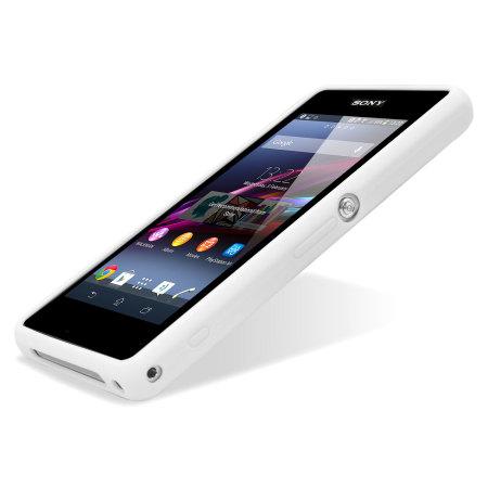 Xperia Z1 White Review Roxfit Gel Shell Case ...