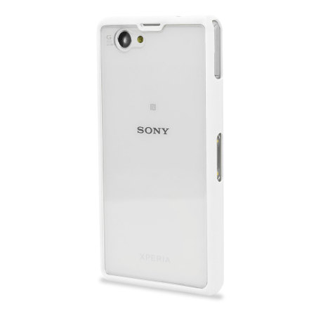Xperia Z1 White Review Muvit Bimat Back Case ...