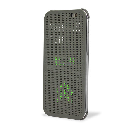 Shorts official htc one m8 m8s dot view case grey our