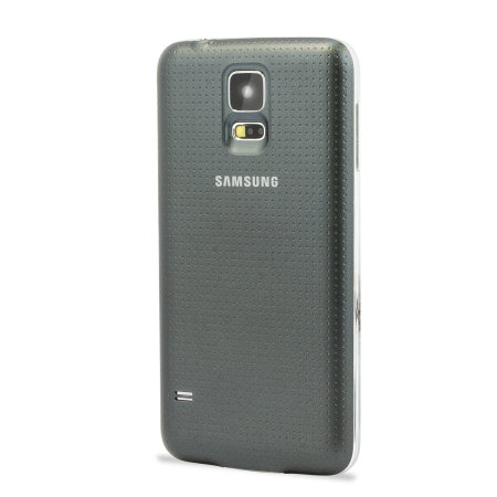 44074 Official Samsung Galaxy S5 Wireless Charging Cover Black