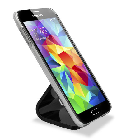 olixar micro suction smartphone desk stand black hardware