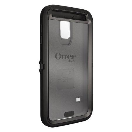 otterbox defender series samsung galaxy s5 protective case black mobilezap australia. Black Bedroom Furniture Sets. Home Design Ideas