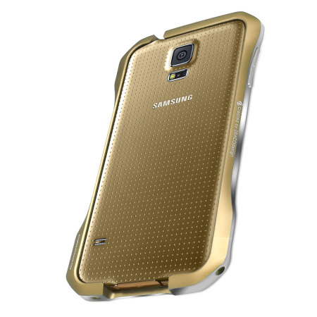 44861 Draco Galaxy S5 Supernova S5 Aluminium Bumper Copper Gold