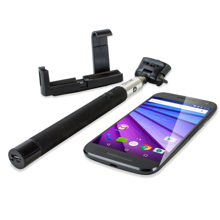 olixar bluetooth selfie stick for android and apple devices mobilezap australia. Black Bedroom Furniture Sets. Home Design Ideas
