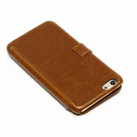 zenus lettering diary iphone 6s 6 case brown reviews receive