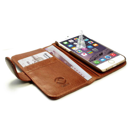 again depends tuff luv iphone 6s 6 vintage leather wallet case with rfid brown Innotab multilingual; you
