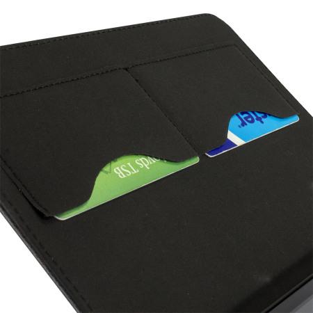 olixar ipad mini 3 2 1 leather style stand case black pink