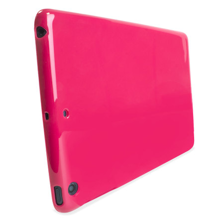 encase flexishield ipad air 2 gel case hot pink iPad Air