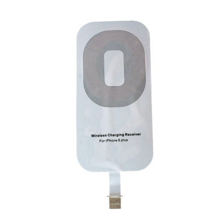 qi case compatible iphone 6s plus 6 plus wireless charging adapter mobilezap australia. Black Bedroom Furniture Sets. Home Design Ideas