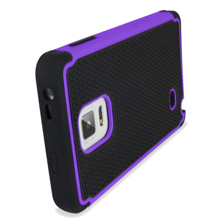 samsung galaxy note edge tough case purple