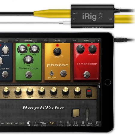 ik multimedia irig 2 guitar interface for ios android and mac mobilezap australia