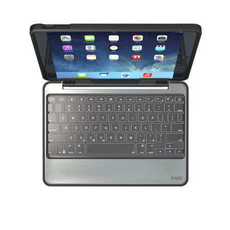 Zagg Rugged Book Magnetic Ipad Air 2 Keyboard Case