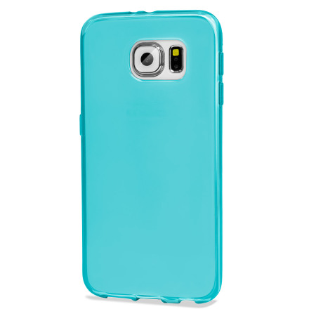 Flexishield samsung galaxy s6 gel case light blue 8
