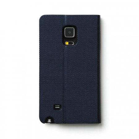 only phone zenus metallic diary samsung galaxy note 4 case navy quick