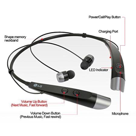 lg hbs 500 tone plus bluetooth stereo headset black reviews mobilezap australia. Black Bedroom Furniture Sets. Home Design Ideas