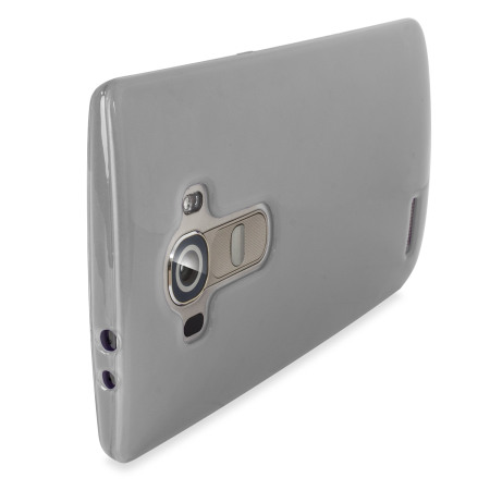 in-built video player flexishield lg g4 gel case frost white can