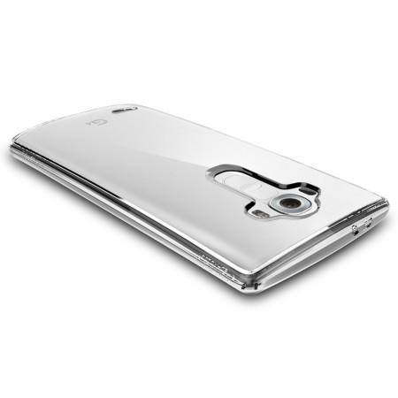 spigen ultra hybrid lg g4 case crystal clear
