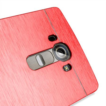 site may also olixar aluminium lg g4 shell case red