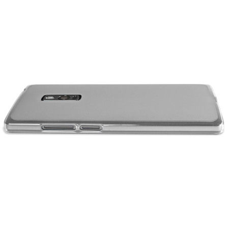 flexishield oneplus one case frost white the app comes