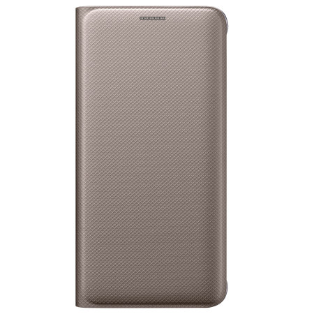 quality decent official samsung galaxy s6 flip wallet cover gold paid