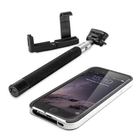 olixar bluetooth iphone selfie stick mobilezap australia. Black Bedroom Furniture Sets. Home Design Ideas
