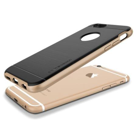 service verus high pro shield series iphone 6s case champagne gold reviews