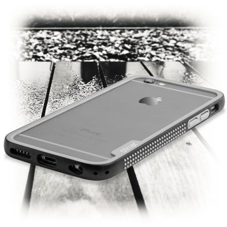 music one olixar flexiframe iphone 6s plus bumper case black grey and