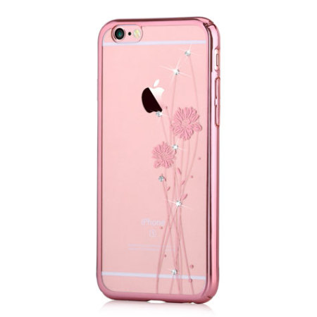 crystal ballet iphone 6s plus 6 plus case rose gold mobilezap australia. Black Bedroom Furniture Sets. Home Design Ideas