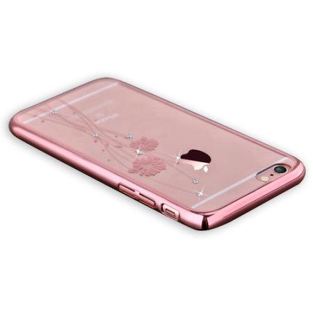 crystal ballet iphone 6s plus 6 plus case rose gold. Black Bedroom Furniture Sets. Home Design Ideas
