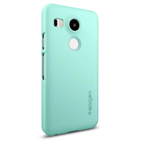 spigen thin fit google nexus 6 shell case mint