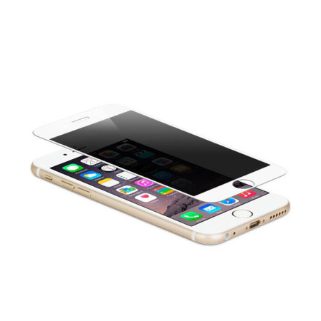 moshi ivisor iphone 6s/6 privacy glass screen protector white 1