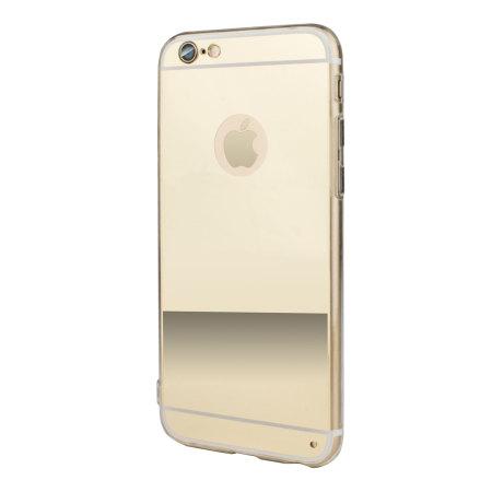 flexishield mirror iphone 6s 6 gel case silver